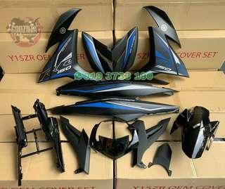 COVERSET YAMAHA Y15ZR EXCITER RC HITAM MATTE 2019