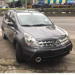 瑋哥車坊 正2012年 Nissan Livina 恆溫大包頂架再送你全新安卓機 保證實車實價21.8萬!一手車 非自售