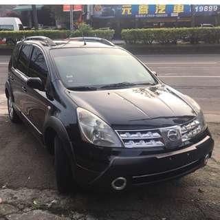 瑋哥車坊 正2012年Nissan Livina 恆溫大包頂架~全新7吋安卓機 實車實價只要 21.8萬!一手車 非自售
