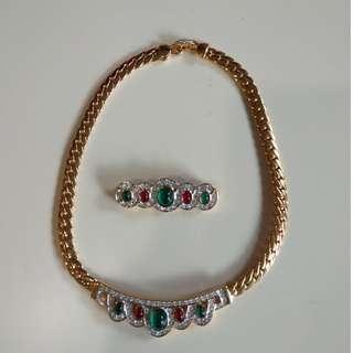 Accessories Set (Necklace + Brooch)
