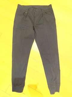 Sophnet 2 tucks ribbed pants sz M Dark Navy