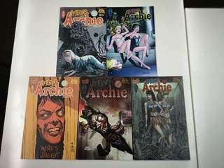 Afterlife with Archie  Betty RIP (2013) Comics Set