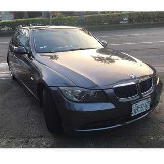 車主自售 正2008年 BMW 總代理 E90 320i 2.0L 全新安卓機 車況一流 保證實車實價39.8萬!