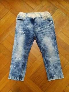 小童 女童 4~7歲 長褲 牛仔褲 Jeans