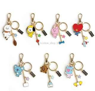 韓國代購🇰🇷BT21金屬鑰匙圈