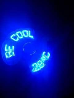 USB 迷你溫度風扇 包郵 USB Temperature Fan