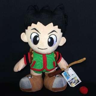"""Rare Hunter X Hunter Gon plush 13"""" bnew w/tag Licensed by Jade Animation 13"""" - Php 1,500"""