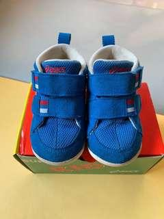 🚚 Asics 亞瑟士 寶寶學步鞋/童鞋 13.5cm 藍色