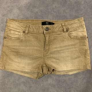 Gold Hot Denim Pants