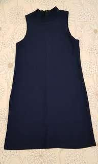 🚚 Basic Navy Knit Dress
