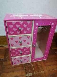 Preloved Girl Pink Drawer