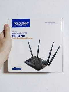 🚚 Prolink AC1200 Dual Band Router