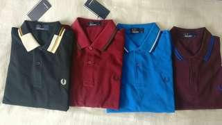 Fred Perry Polo Shirts (M)