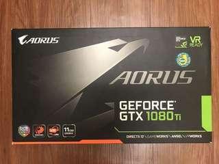 顯卡 Gigabyte Aorus GTX 1080 Ti 11GB [有單有保養]
