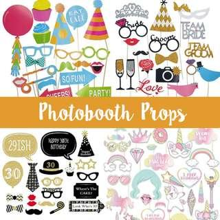 Party Photobooth prop Birthday Wedding Hen party baby Shower