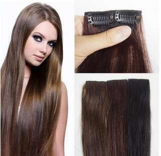 🚚 👍🆕 BUY 1 FREE 1 Hair Extensions (Clip On) 🆕👍