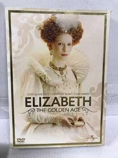 Elizabeth the golden age DVD