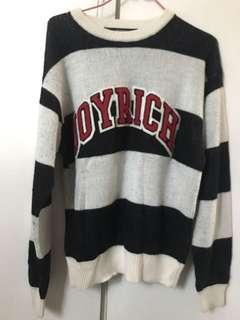 Joyrich Jock Knit Crew Sweater 毛衣 size S