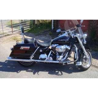 Harley Davidson Road King FLHRI 2006 in Black