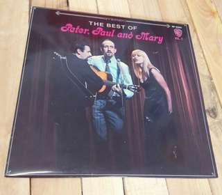 The Best Of Peter Paul and Mary  特別版 大碟 酒紅色膠唱片 $400