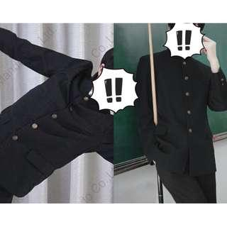 japanese male black school uniform cosplay japan