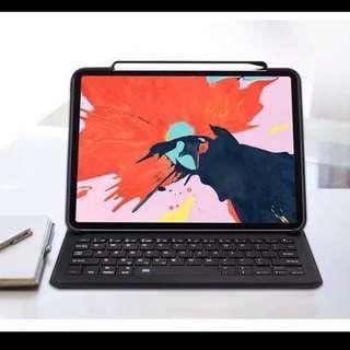 NEW Ipad pro 11 inch waterproof keyboard case 防水鍵盤