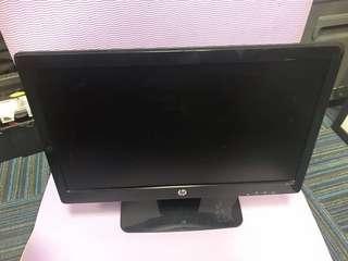 🚚 Used HP WLED monitor model HP 2011X