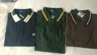 Fred Perry Polo Shirts (L)