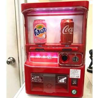 絕版迷你汽水機雪櫃販賣機