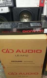 DD AUDIO 全新級連低音 三件