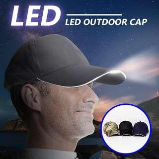 🔥LED Cap With LIGHT for Fishing Camping🔥