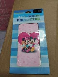 🚚 IPhone 4/4s screen protector and mickey back protector