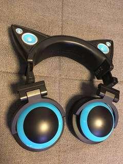 Brookstone Headphones 耳機 貓貓耳機
