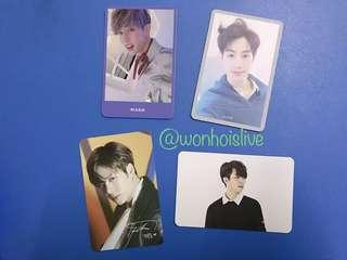[WTS] GOT7 VARIOUS PHOTOCARD AND POSTACARD