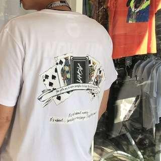 🚚 2027 Agari 同花 poker 世家 短袖 T恤