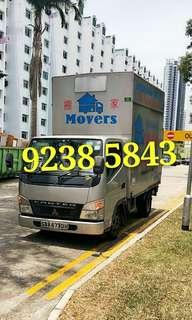 Lorry / manpower /house moving call 92385843 JohnsionMover
