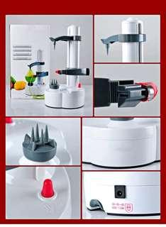 ELECTRIC PEELER FOR VEGETABLE AND FRUIT 14.00 x 14.50 x 28.00 cm