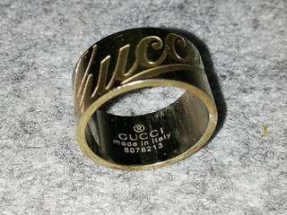Gucci ring size 6