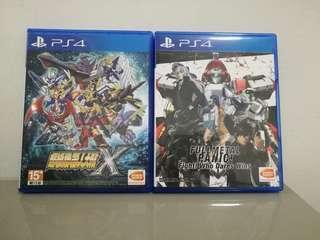 Ps4 Full Metal Panic / Super robot wars X