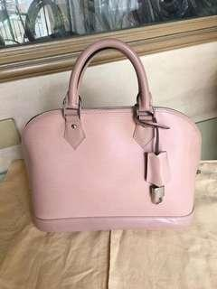 LV Alma PM Baby Pink Authentic