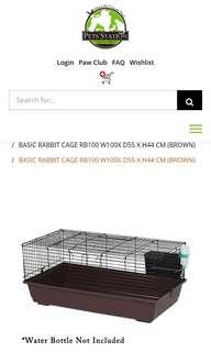 🚚 RABBIT/GUINEA PIG CAGE