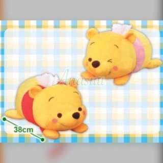 🌟全新日本正版景品 Disney系列 小熊維尼 Winnie the Pooh winniethepooh  維尼熊  Q版小熊維尼  迪士尼q版系列 跳跳虎的好朋友 中公仔 紙巾套(全兩種)