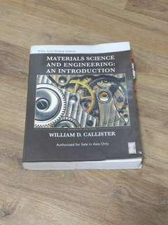 🚚 Materials Science and Engineering: An Introduction by William Callister