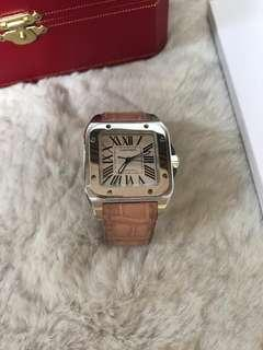 Cartier Santos Mesium Watch