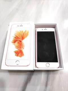 Well Condition iPhone 6s 64GB Rose Gold