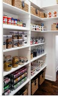 MONTHLY PANTRY STOCK UP