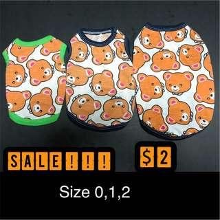 Cute clothes for dog and cat