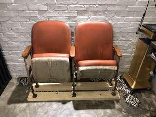 Antique Vintage cinema chair