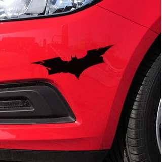 蝙蝠俠車貼 黑暗騎士復仇者聯盟AVENGERS車貼 貼紙 車貼 裝飾貼 單色 防水耐溫 反光貼 安全警示貼 刮痕遮蔽