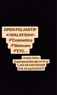 Open PO / Jastip Malaysia